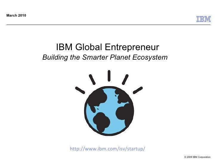 Ibm global enterpreneur briefing