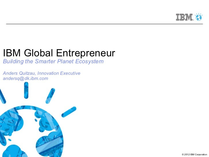DK IBM global entrepreneur program overview April  2012