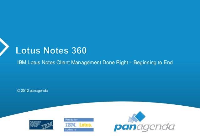 IBM Lotus Notes 360