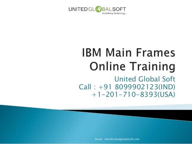 IBM Main Frames Online Training in Hyderabad