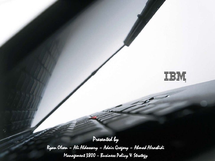 Ibm strategic outsourcing case study