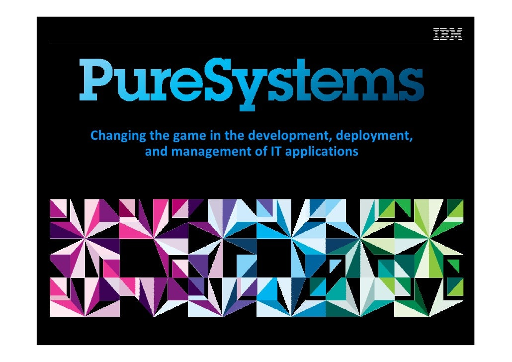 Changing the game in the development, deployment,        and management of IT applications