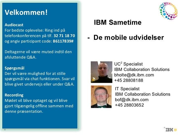Ibm sametime   de mobile udvidelser
