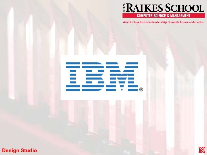 IBM Showcase Presentation Raikes School
