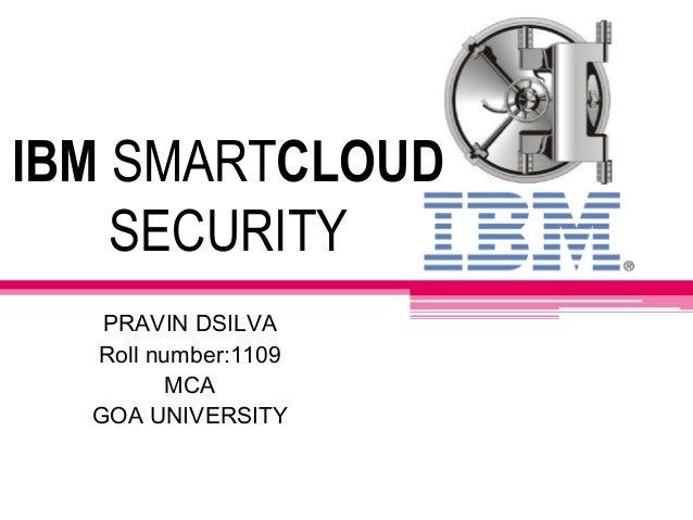 IBM smartcloud: security