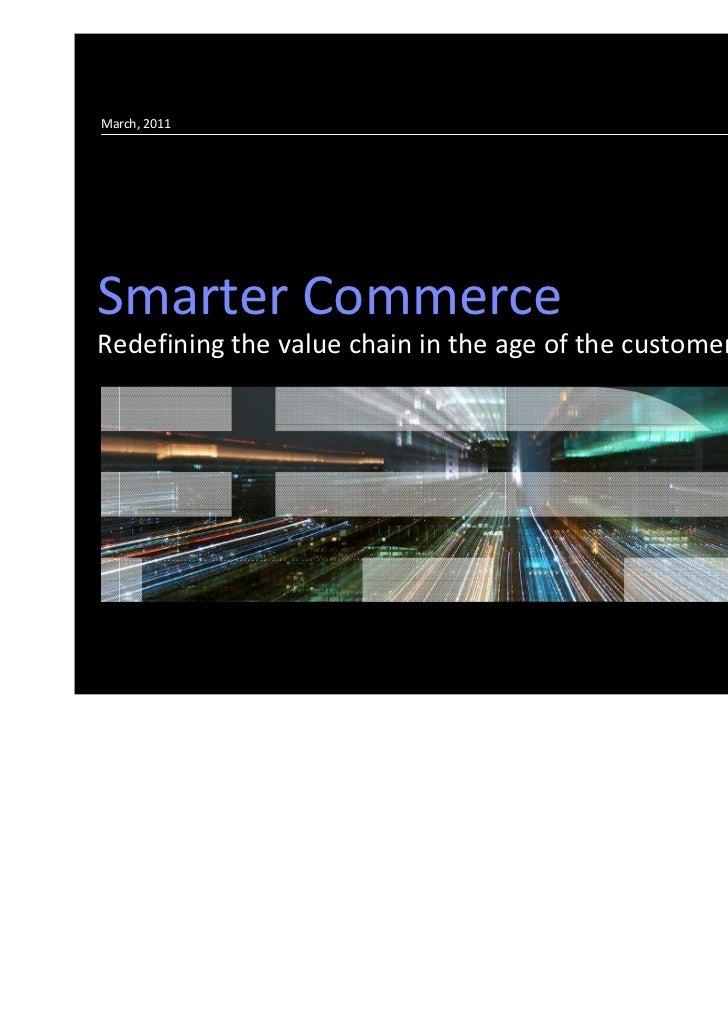 IBM Smarter Commerce 2011