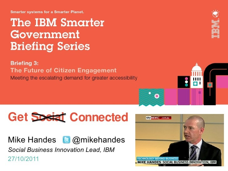 Ibm smarter government series 2011 10 - web2.0