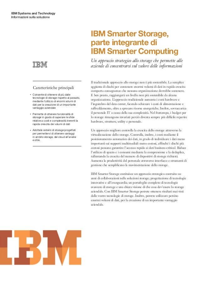 IBM Systems and TechnologyInformazioni sulla soluzione                                                                 IBM...