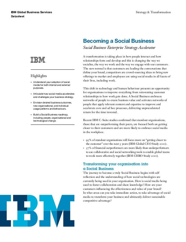 IBM Becoming a Social Business