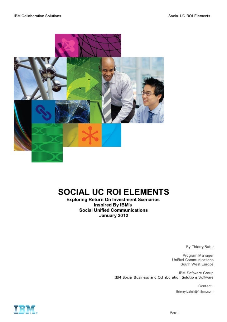 Ibm social uc roi elements jan2012