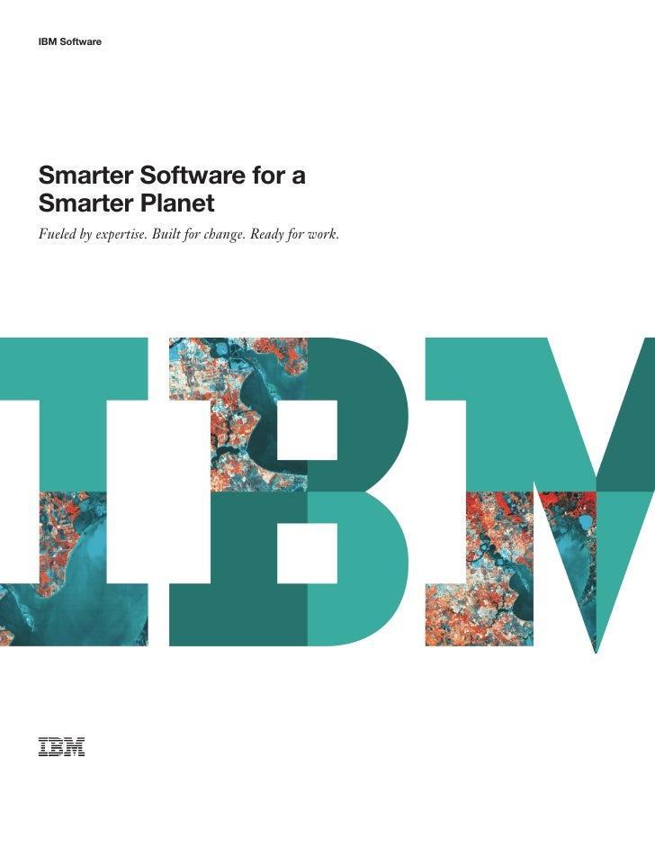 Ibm software brochure