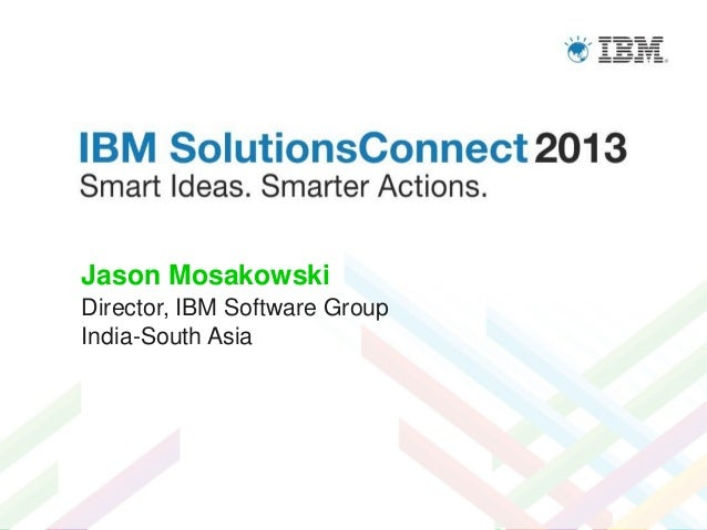 IBM Solutions Connect 2013 Leadership Meet Keynote
