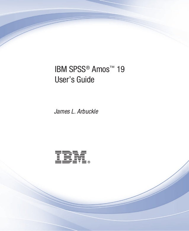 ibm spss amos 19 user s guide