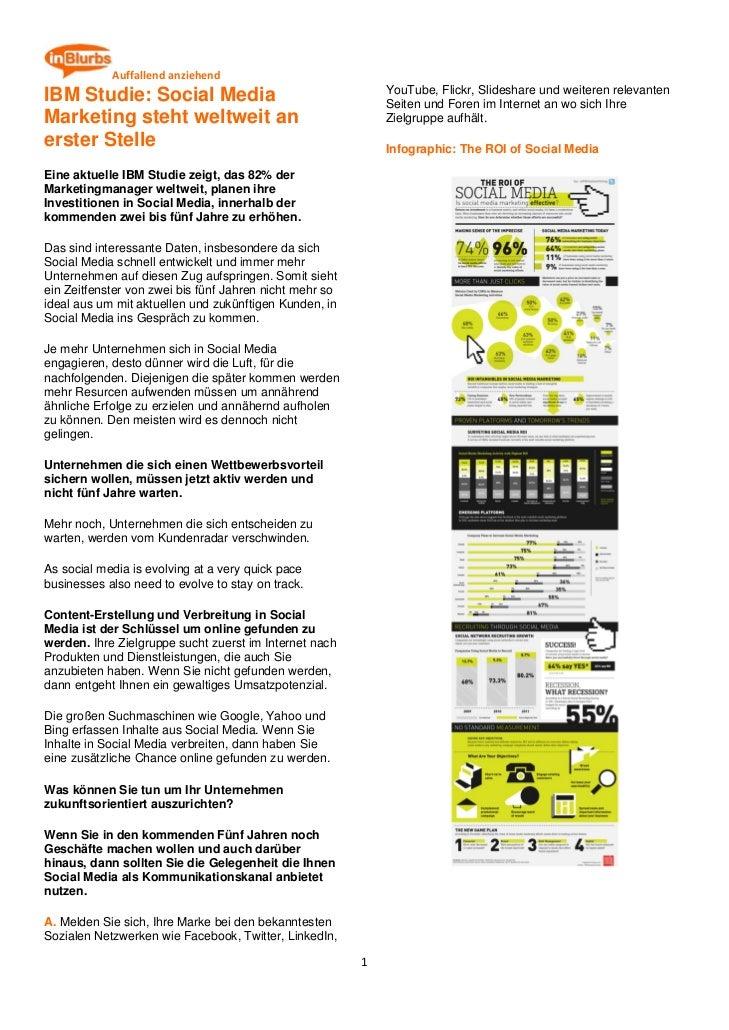 Ibm studie social media marketing steht weltweit an erster stelle