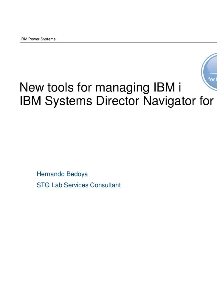 [Uruguay] IBM Systems Director Navigator for i
