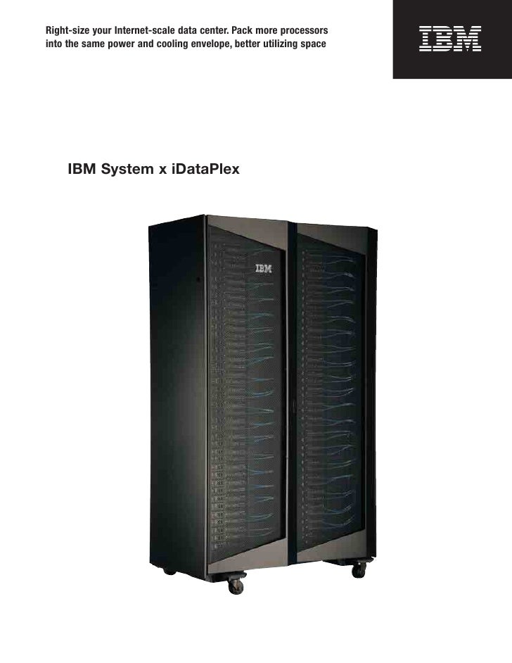 Right-size your Internet-scale data center. Pack more processorsinto the same power and cooling envelope, better utilizing...
