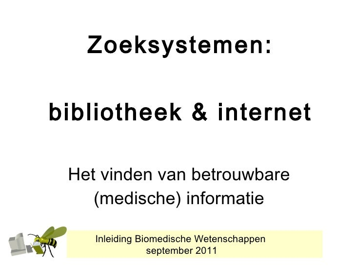 Ibmw 2011 zoeksystemen bibliotheek internet