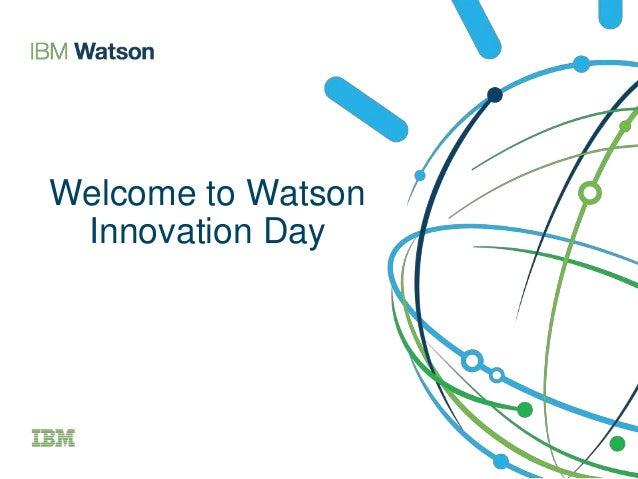IBM Watson Innovation Day Boston
