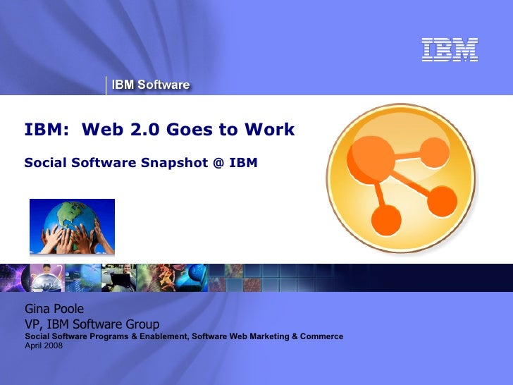 Ibm  Web 2 0 Goes To Work Presentation