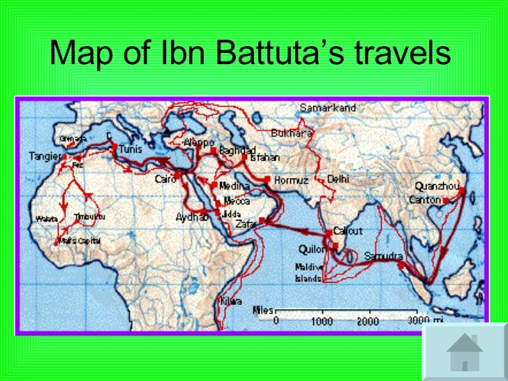 the journey of ibn battuta essay Ibn battuta recorded his visit to the kilwa sultanate in 1330, and commented favorably on the humility and religion of its ruler, sultan al-hasan ibn sulaiman, a descendant of the legendary ali ibn al-hassan shirazi.