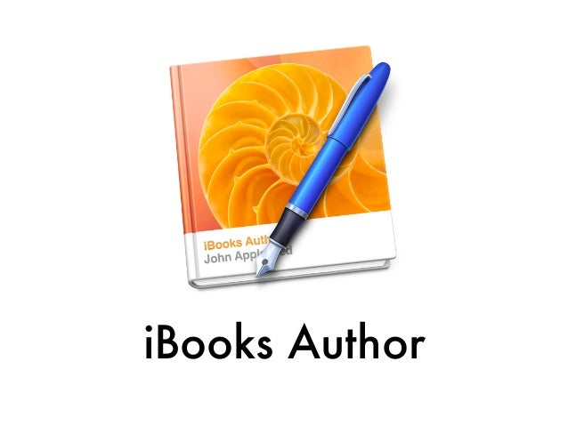 Ibooks author presentation