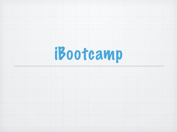 iBootcamp