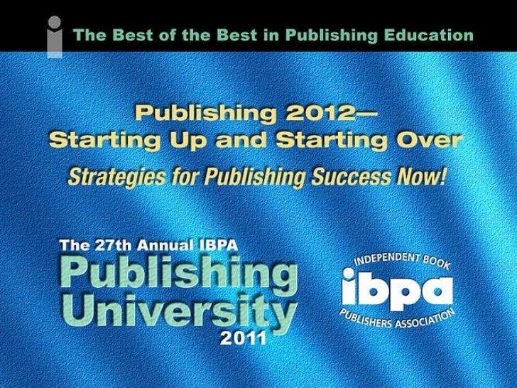 Book to App Primer - IBPA 2011