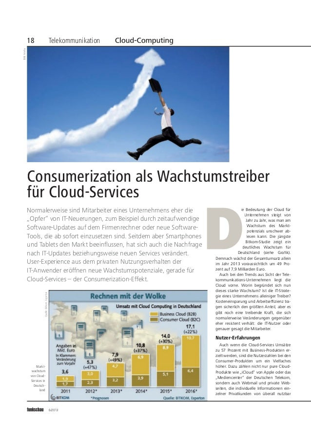 IBP@Funkschau 2013-06 Consumerization als Wachstumstreiber für Cloud Servi…