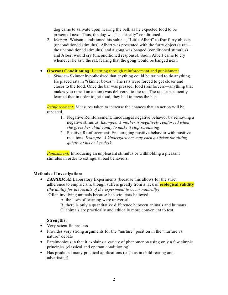 apa psychology essay sample
