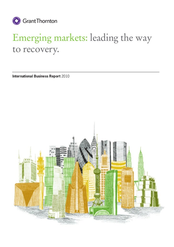 Emerging Markets: Leading The Way To Recovery in 2010