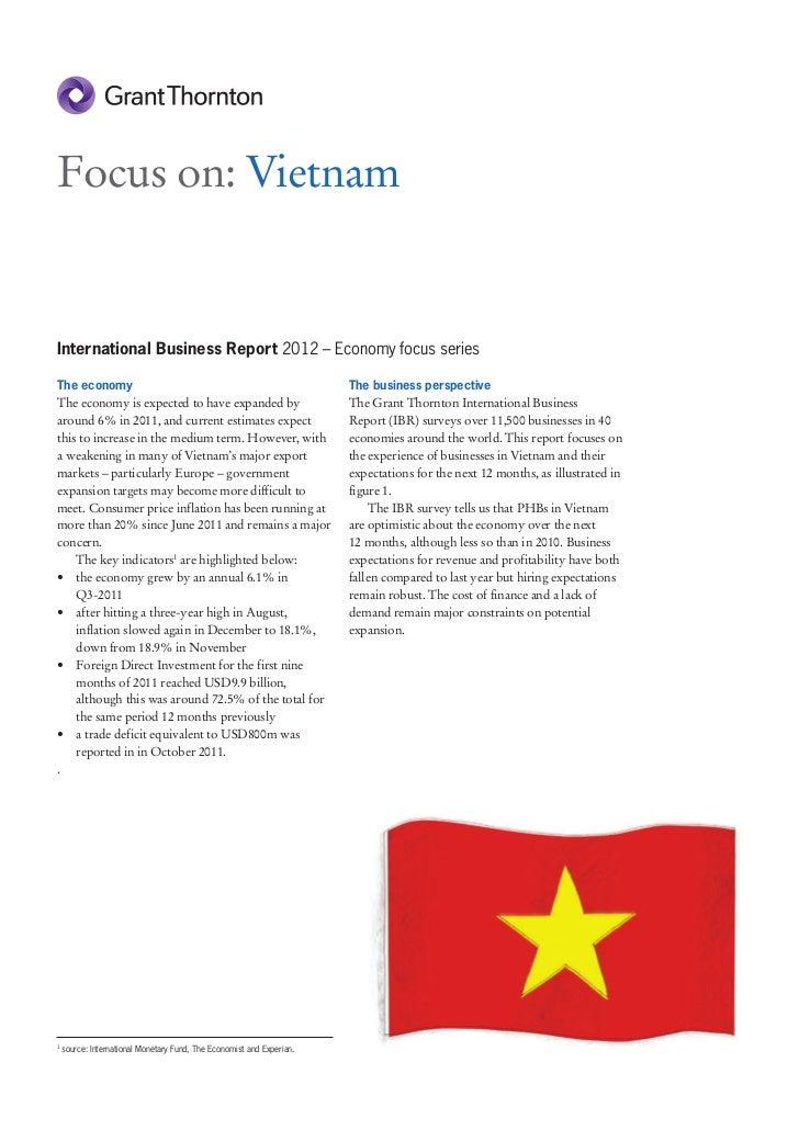 GT IBR 2012 - focus on Vietnam