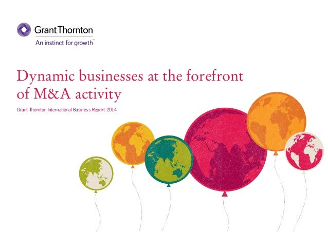 Dynamic businesses at the forefront of M&A activity (IBR 2014)