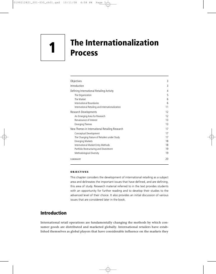 international expansion essay