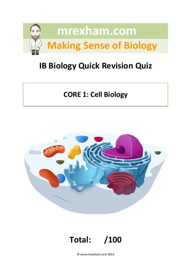 Ib biology coursework guide