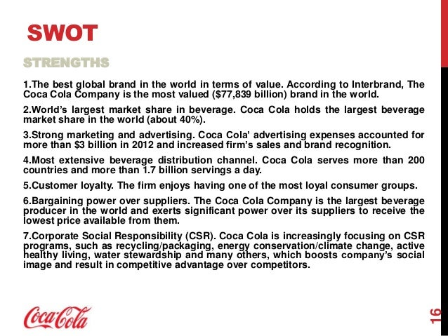 coca cola international business strategy for globalization To give you an idea of what a great global marketing strategy looks like, we've   coca-cola is a great example of a brand using international.