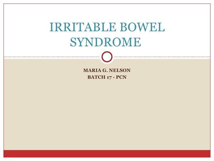 IBS, Constipation & Diarrhea