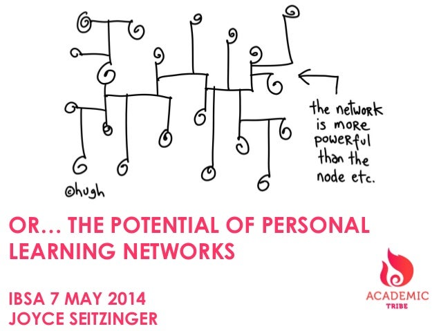 OR… THE POTENTIAL OF PERSONAL LEARNING NETWORKS IBSA 7 MAY 2014 JOYCE SEITZINGER
