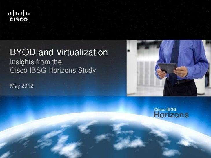 BYOD and Virtualization