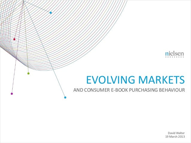Nielsen - Evolving Markets and consumer e-book purchasing behavior