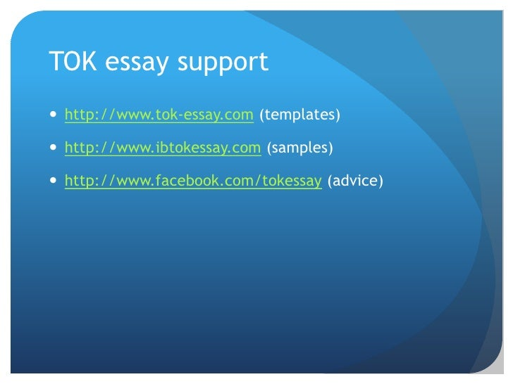 "tok essay word limits Ted ankara college foundation private high school theory of knowledge essay tok essay 1 ""every man takes the limits of his own field of vision for the."