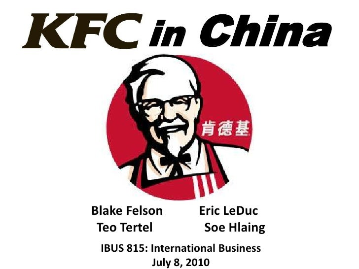 kfc essay Sample essay on porter's 5 forces analysis of kfc porter's 5 forces analysis of kfc the porter's five forces analysis is a business evaluation model that was developed by michael porter in 1979.