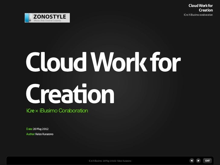 Cloud Work for                                                                                    Creation                ...
