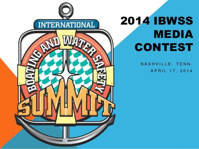 2014 Media Contest Winners - International Boating and Water Safety Summit