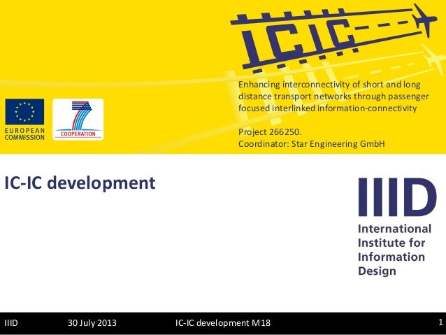 Enhancing interconnectivity of short and long distance transport networks through passenger focused interlinked informatio...