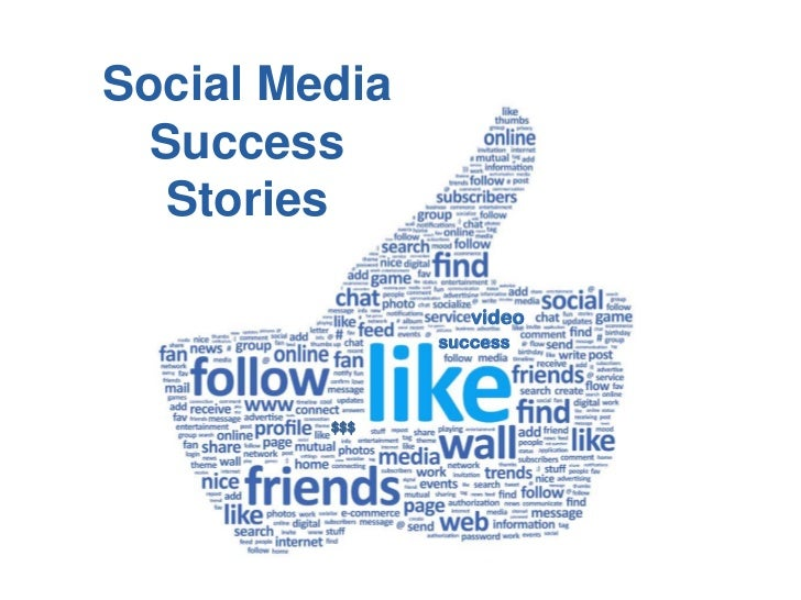 Social Media  Success   Stories                  video               success         $$$