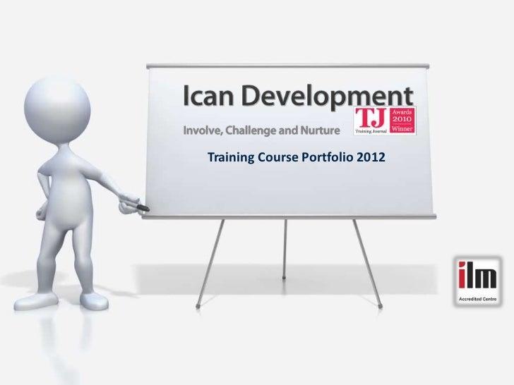Training Course Portfolio 2012