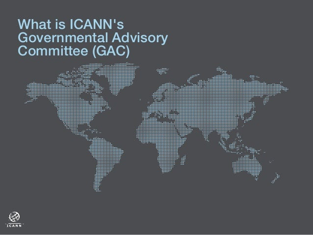 What is the ICANN Governmental Advisory Committee?