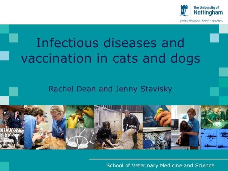 ICAWC 2011: Rachel Dean and Jenny Stavisky - Feline and Canine Infectious Diseases