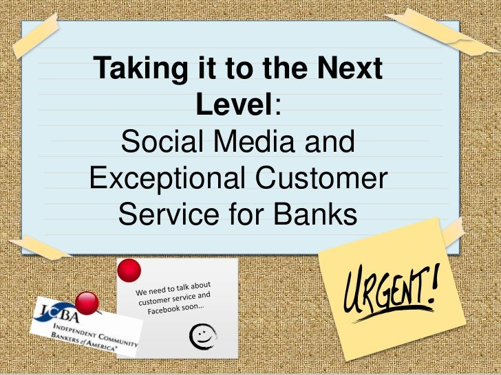 Social Media for the Banking Industry