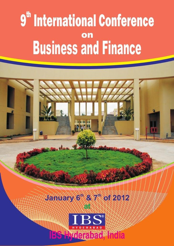 Icbf 2012 brochure